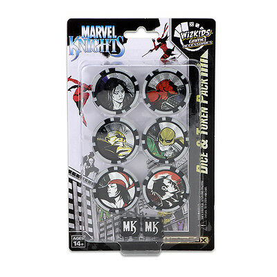 Heroclix Avengers Defenders War Marvel Knights Dice & Token Pack