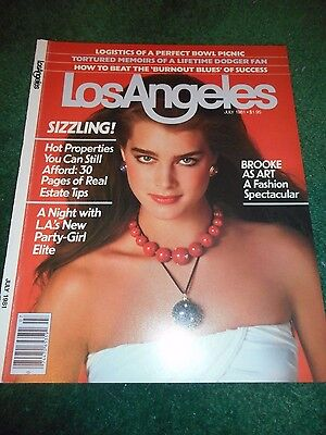 Brooke Shields - Los Angeles Magazine Cover Only - July 1981 - No Magazine