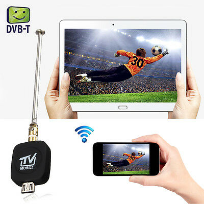 Mini Micro USB DVB-T ISDB-T Digital Mobile TV Tuner Ricevitore Per Android Phone