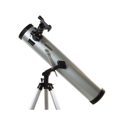 Byomic Beginners Newtonian Reflector Telescope 76/700 with Case Altazimuth Mount