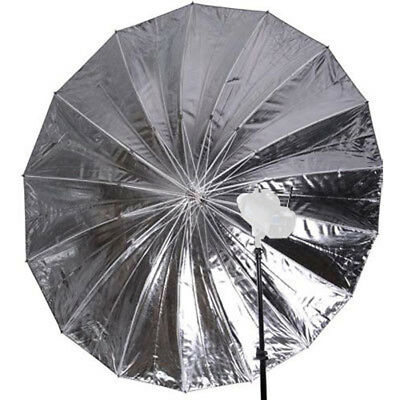 falcon eyes jumbo umbrella ur t86s silverwhite 216 cm