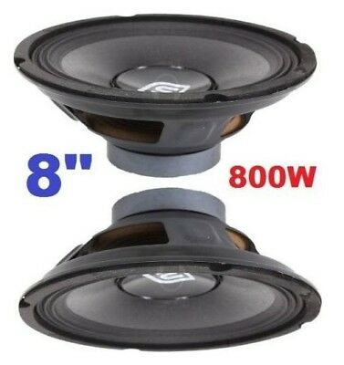 "COPPIA WOOFER PROFESSIONALE 8"" 8 OHM 400W art 902233"