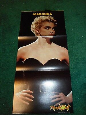 Madonna - Tri-Folded Pull-Out Poster - Billy Idol