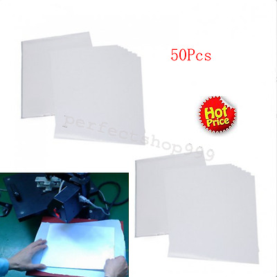 Perfect! 50 Sheets A4 Inkjet Heat Iron On Transfer Paper for Light Color Fabrics