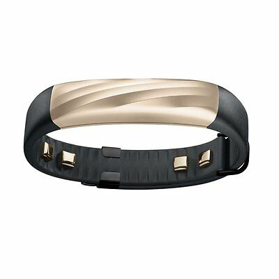 Jawbone UP3 Heart Rate Activity and Sleep Tracker - BLACK GOLD TWIST