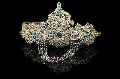 Antique Original Silver Ottoman Filigree Amazing Anatolian Perfect Belt