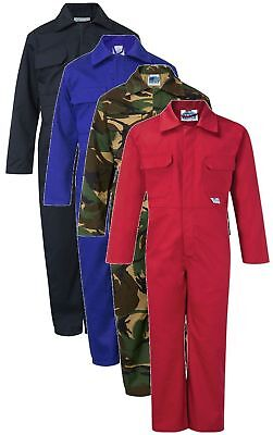 CASTLE 333 Tearaway kids junior coverall all colours inc camo size 20-36