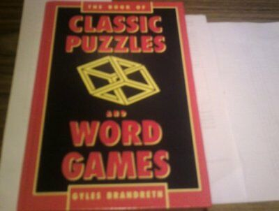ex-library',The Book of Classic Puzzles and Word Games,Gyles Brandreth