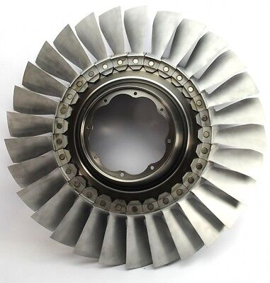 RAF BAE Hawk XX189 Aircraft RR Adour Jet Engine LP2 Compressor Fan Stage
