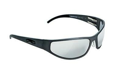 NEW ICICLES Baggers Flat Transition Mirror Lens Sunglasses with Gun Metal Frame