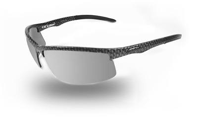 NEW ICICLES Cylinder Transition Mirror Lens Sunglasses with Carbon Fiber Frame