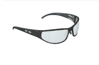 NEW ICICLES Baggers Diamond Transition Mirror Lens Sunglass with Gun Metal Frame