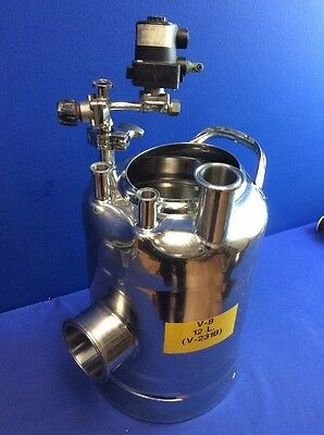 ALLOY PRODUCTS STAINLESS STEEL 12L TANK  T-316 (No Lid)