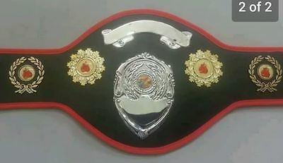 Boxing Champion Belts