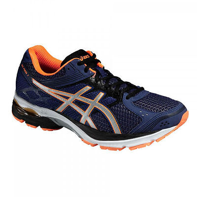 ASICS Gel pulse 7 scarpe running tg 46 uomo deep cobalt orange T5F1N