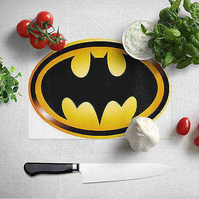 Food Chopping Board - Chef Cook Gift Idea - Batman Kitchen Cutting Board