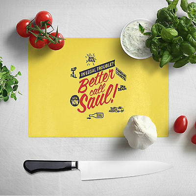 Food Chopping Board - Chef Gift Idea - Better Call Saul Kitchen Cutting Board