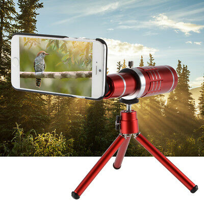 18X HD Zoom Telescope Telephoto Lens + Mini Tripod + Cases for iPhone 6s DC775