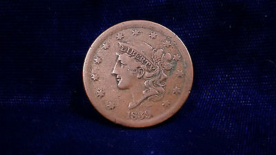 1839 Braided Hair Large Cent **NICE AND CLEAN, GREAT COIN!**