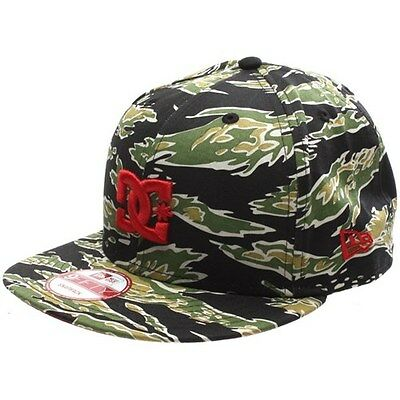 DC Shoes RD Tiger New Era Snapback Cap - Military Green Camo