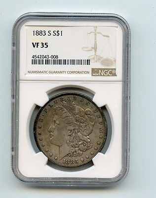 1883-S Morgan Silver Dollar (VF35) NGC
