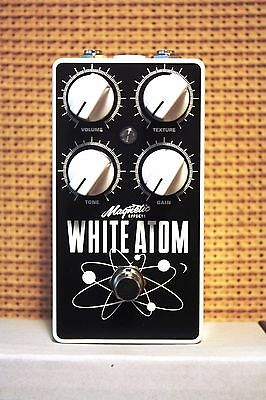 Magnetic Effects - White Atom Fuzz Guitar Pedal