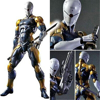 In Box Play Arts Kai Grey Fox Metal Gear Solid Cyborg Ninja Action Figur Figuren