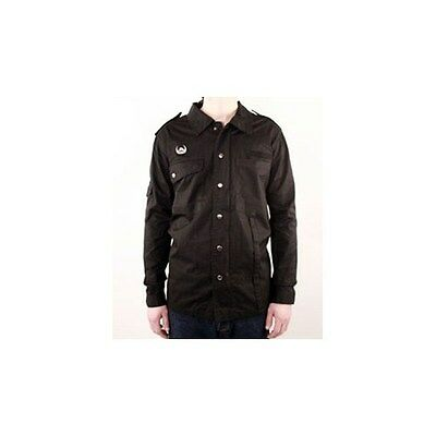 Lowlife Men's Rex 100% Cotton Field Jacket s/Crest Pin Rivet & Woven Crest Badge