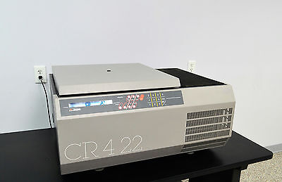 Jouan CR4-22 Benchtop Refrigerated Centrifuge CR422 4500 RPM -5C