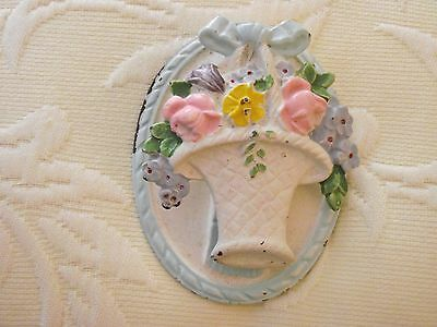 Shabby Chic Antique Cast Iron Door Knocker