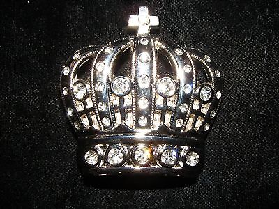 Crown And Cross Belt Buckle