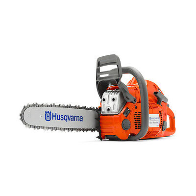 "New Husqvarna 455 Rancher Gas Powered Chainsaw 55.5cc 18"" Bar 68dl .050 Chain"