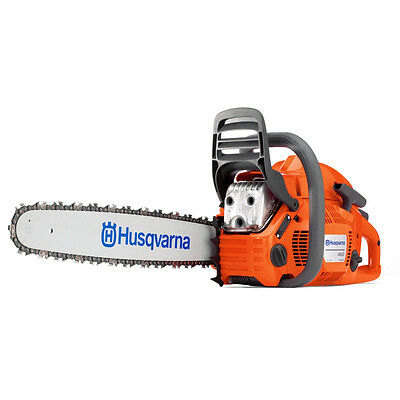 "New Husqvarna 460 Rancher Gas Powered Chainsaw 60.3cc 20"" Bar 72dl .050 Chain"