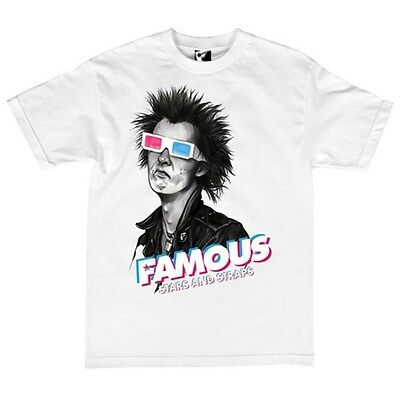 Famous Stars and Straps 3D Spike S/S T-Shirt - White