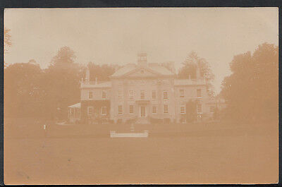 Unidentified Real Photo Postcard - Unknown Stately Home, Demolished? DP501