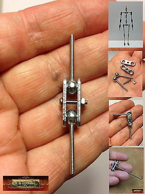 M00014 MOREZMORE HPA M2 Trial 1 Joint Ball Socket Stop-Motion Armature