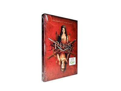 Reign: The Complete Third Season 3 (DVD, 2016, 4-Disc Set)