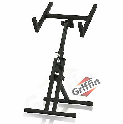 Wood Music Stand - CONDUCTOR Sheet Metal Holder Mount Tripod Folding Stage