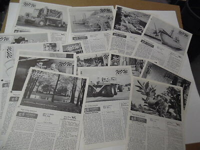 1957 LeTourneau Tech's NOW Bulletin Newsletter Lot of 17 Issues Vintage Original