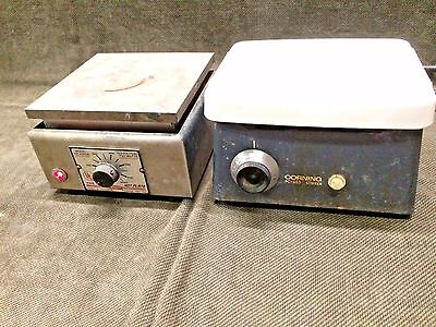 LOT Corning PC 353 Stirrer & Thermolyne 1900 Hot Plate, stir, mix, heat mantle
