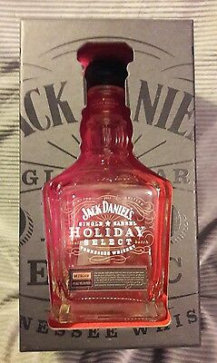 Jack Daniel's 2014 Holiday Select.    Bottle and Box.