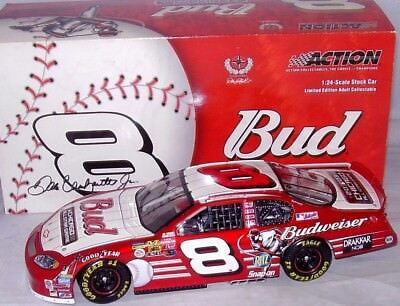 Dale Earnhardt Jr. #8 Budweiser/MBL All Star Game 2002 1/24 Scale NASCAR Diecast