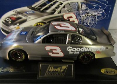 Dale Earnhardt Sr. #3 Goodwrench Test Car 2000 Revell 1/24 Scale NASCAR  Diecast