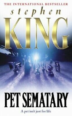 Pet Sematary (Summer read), King, Stephen Paperback Book The Cheap Fast Free