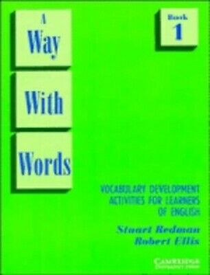 A Way With Words: Book 1 Student's book: Vo... by Stuart Redman, Rober Paperback