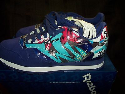Reebok City Classics Men's Leather Sneakers Nyc Size 9.5 With Box