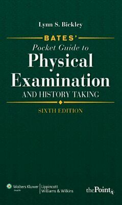 Bates' Pocket Guide to Physical Examination and ... by Lynn S. Bickley Paperback