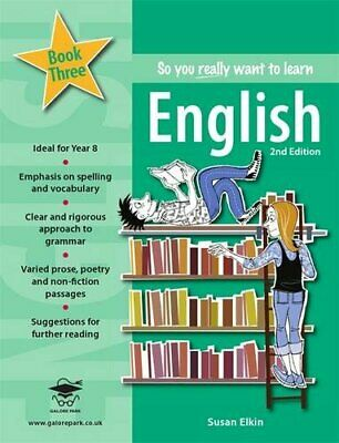 So you really want to learn English Book 3 by Elkin, Susan Book The Cheap Fast