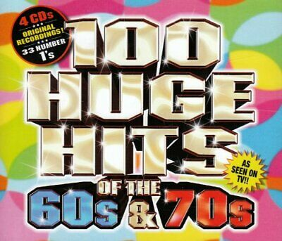 Various Artists - 100 Huge Hits Of The 60s & 70s - Various Artists CD 4MVG The