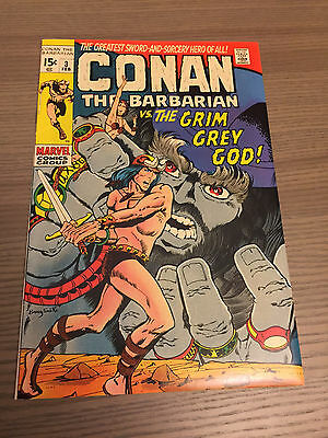 Conan The Barbarian 3 High Grade Low Distribution 1971 Barry Smith